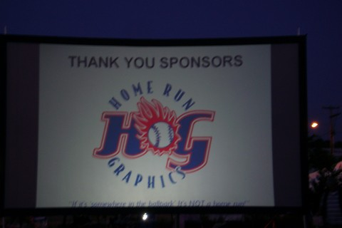 Home Run Graphics - Cinema Under the Stars-Gresham, OR - Thank You Sponsors!